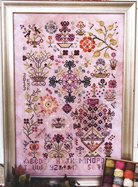 Rosewood Manor Valdani 3-strand cotton floss Winter Quakers