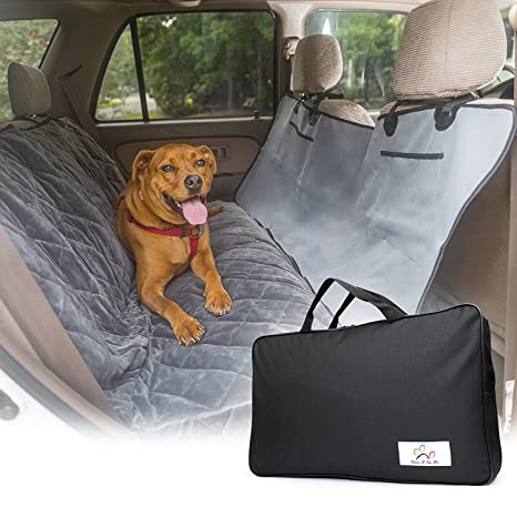 Dog Car Protector >> Pet Car Seat Protector Protects Seats From Stains And Hairs Waterproof Machine Washable Hammock Convertible Pet Travel Kit With Seat Belt