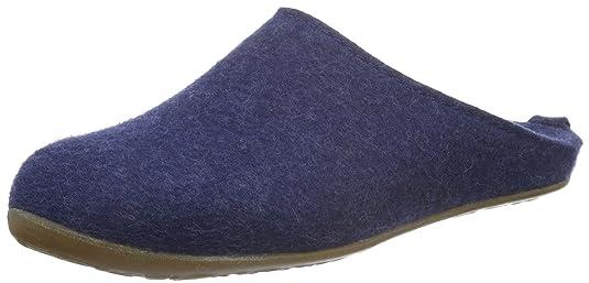 Soft 311010, Chaussons mixte adulte - bleu/jeans, 40 EUHaflinger