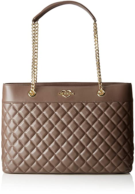 Love Moschino Borsa Quilted Nappa Pu - Borse Tote Donna 1d81ef5d39d
