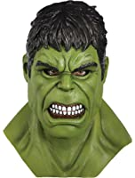 Rubie's Adult Marvel Hulk Overhead Latex Mask