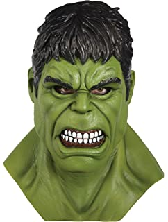 Rubies Adult Marvel Hulk Overhead Latex Mask