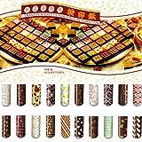Grainrain Colorful DIY Chocolate Transfer Sheet
