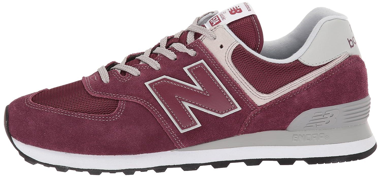 New Balance Herren Ml574E Rot Sneaker, Rot Ml574E (Burgundy/Ml574egb) ebf98c