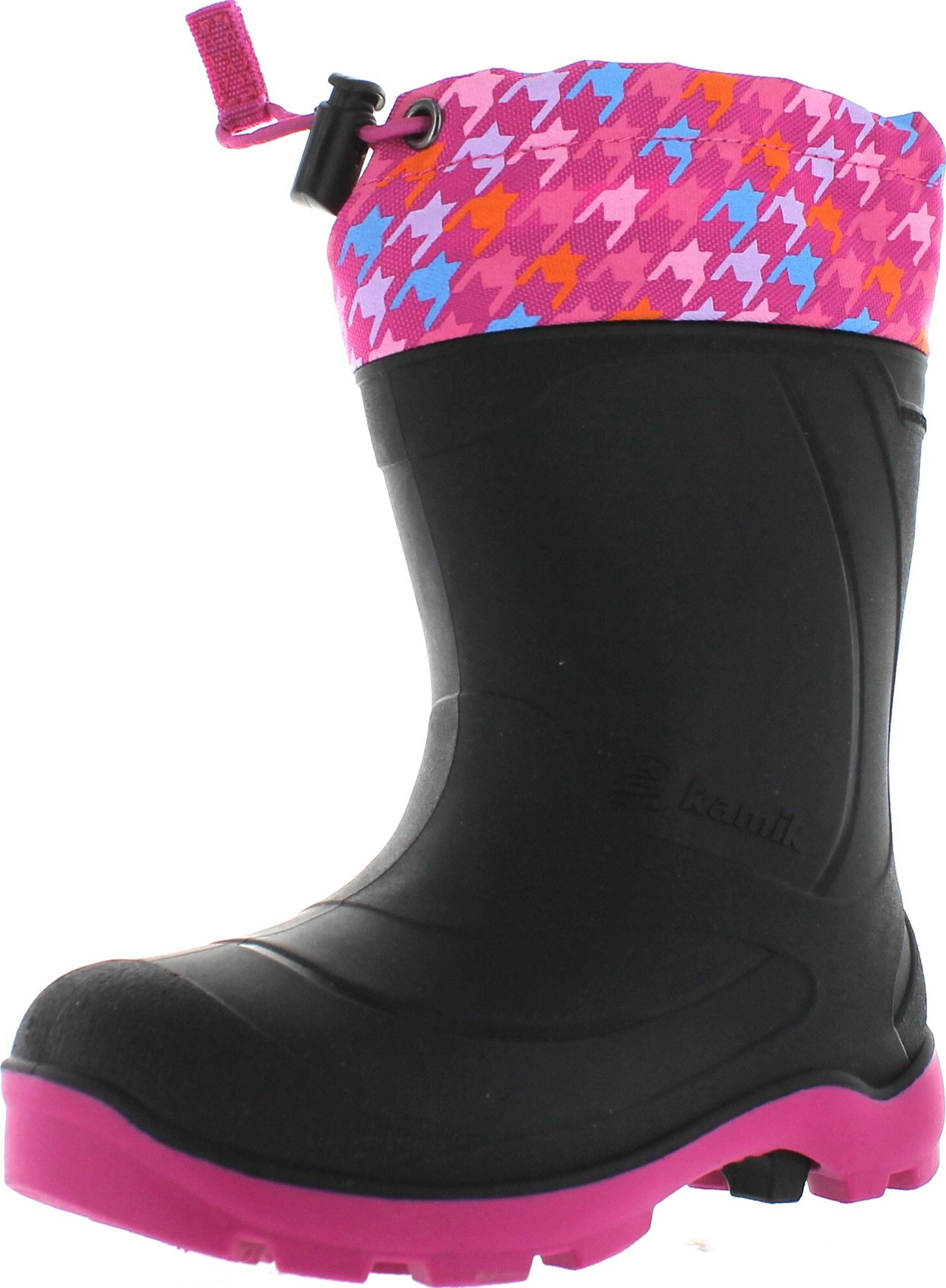 Kamik Kids Footwear Snobuster2 Insulated Boots,Magenta/Blue,9