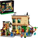 LEGO Ideas 123 Sesame Street 21324 Building Kit; Awesome Build-and-Display Model for Adults Featuring Elmo, Cookie Monster, O