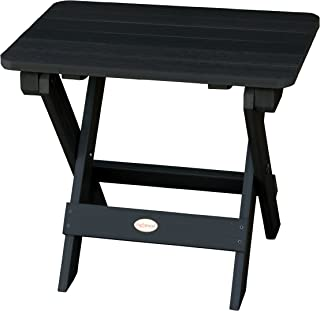 product image for Highwood AD-TBS1-BKE Adirondack Folding Side Table, Black