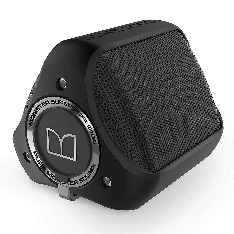Monster S100 - Altavoz portátil con Bluetooth, Color Negro ...
