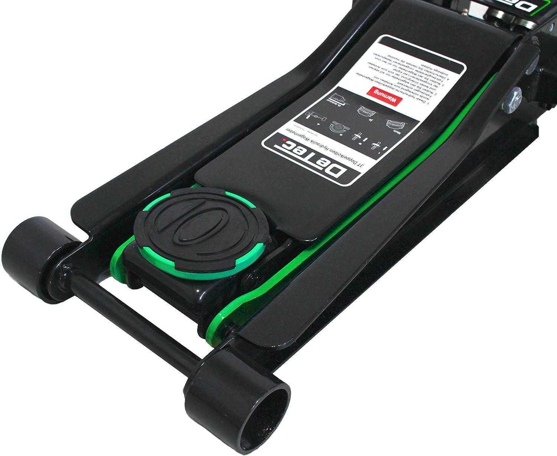DeTec Cric Roulant 3000 kg Cric Roulant Ultra Plat pour Voiture