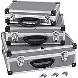 Varo PRM10120 Kit de coffrets en aluminium 3 en 1 Gris/argent