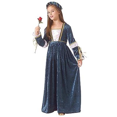 Rubie's Child Juliet Renaissance/Princess Costume, White, Medium: Clothing