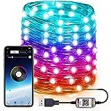 AVEDISTANTE Luces LED de Cadena USB, Inteligente Aplicación Controlada luz Cambio, Sincronización de música Luces centelleant