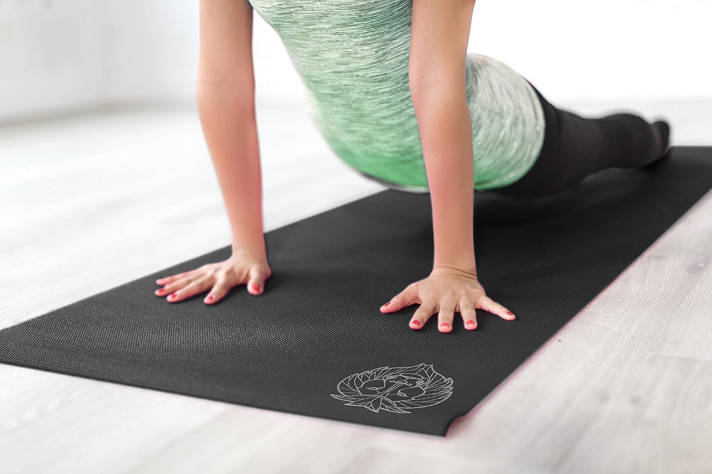 Amazon.com: urbleo profesional esterilla de yoga, superficie ...