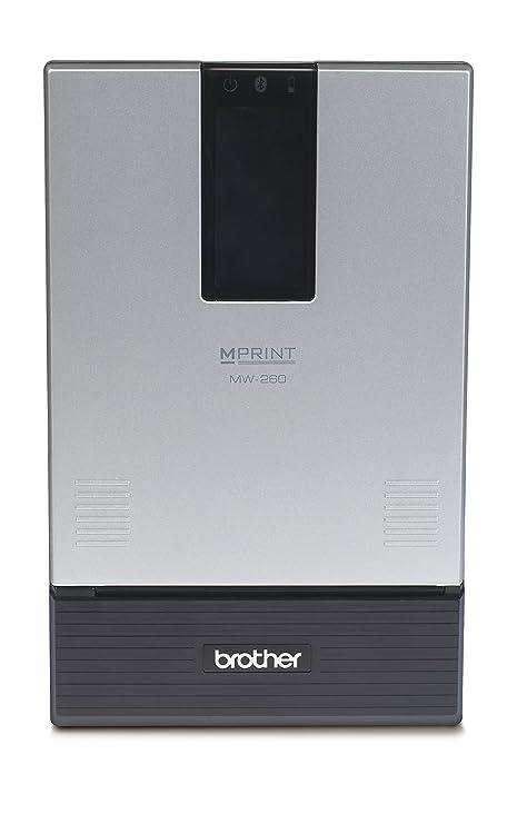 Brother MW-260 - Impresora térmica portátil A6 (Velocidad de 3 ppm ...