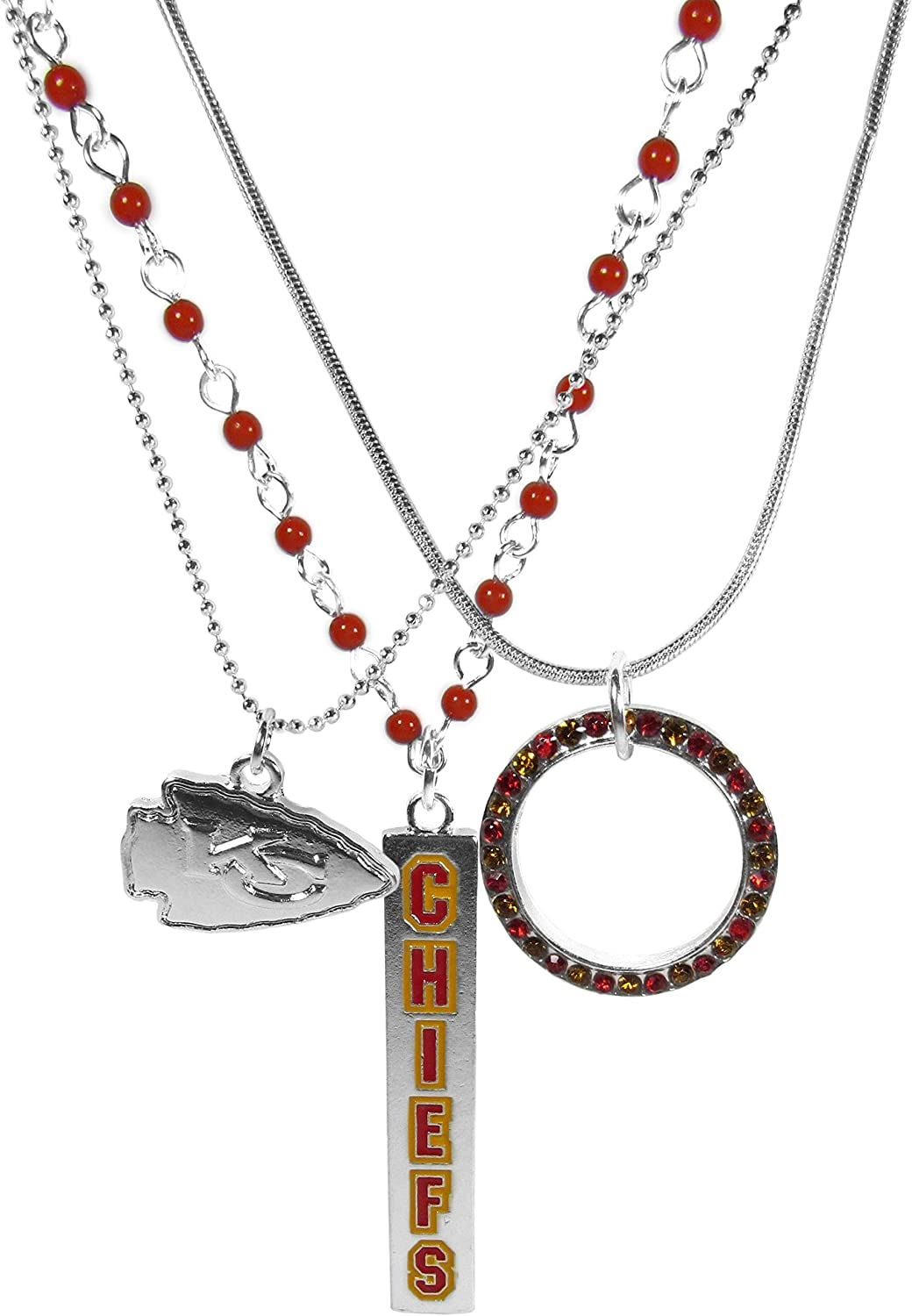 Siskiyou NFL Womens Trio Necklace Set