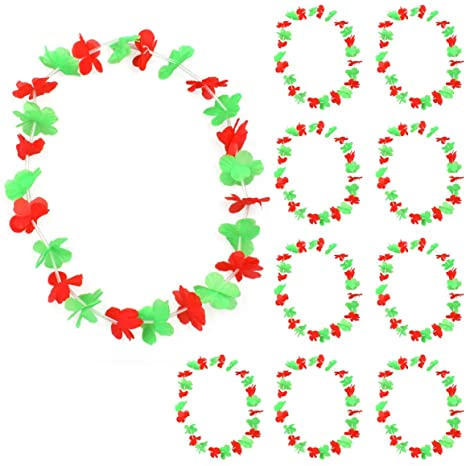 Sonia origi Nelli 10 unidades Flores Cadena Collar hawaiano aprox ...
