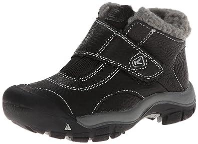 KEEN Kootenay Winter Boot (Toddler),Black/Neutral Gray,4 M US