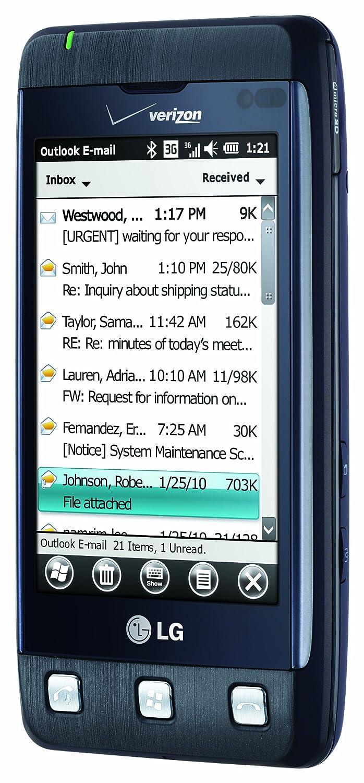 amazon com lg fathom blue verizon wireless cell phones rh amazon com Samsung Intrepid Does the LG Fathom Require a Data Plan