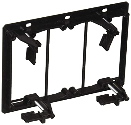 Amazon Com Monoprice 3 Gang Low Voltage Mounting Bracket