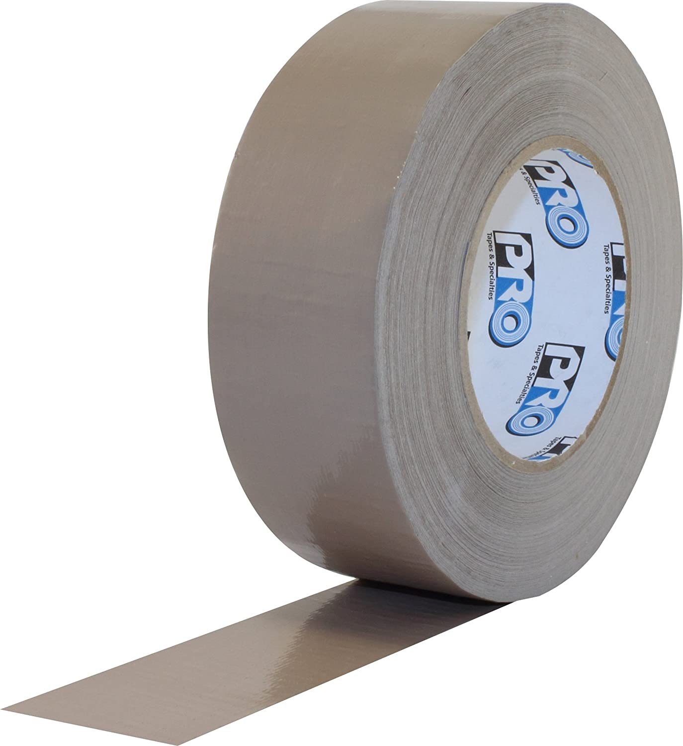 """ProTapes Pro Duct 110 PE-Coated Cloth General Purpose Duct Tape, 60 yds Length x 3"""" Width, Tan (Pack of 1)"""