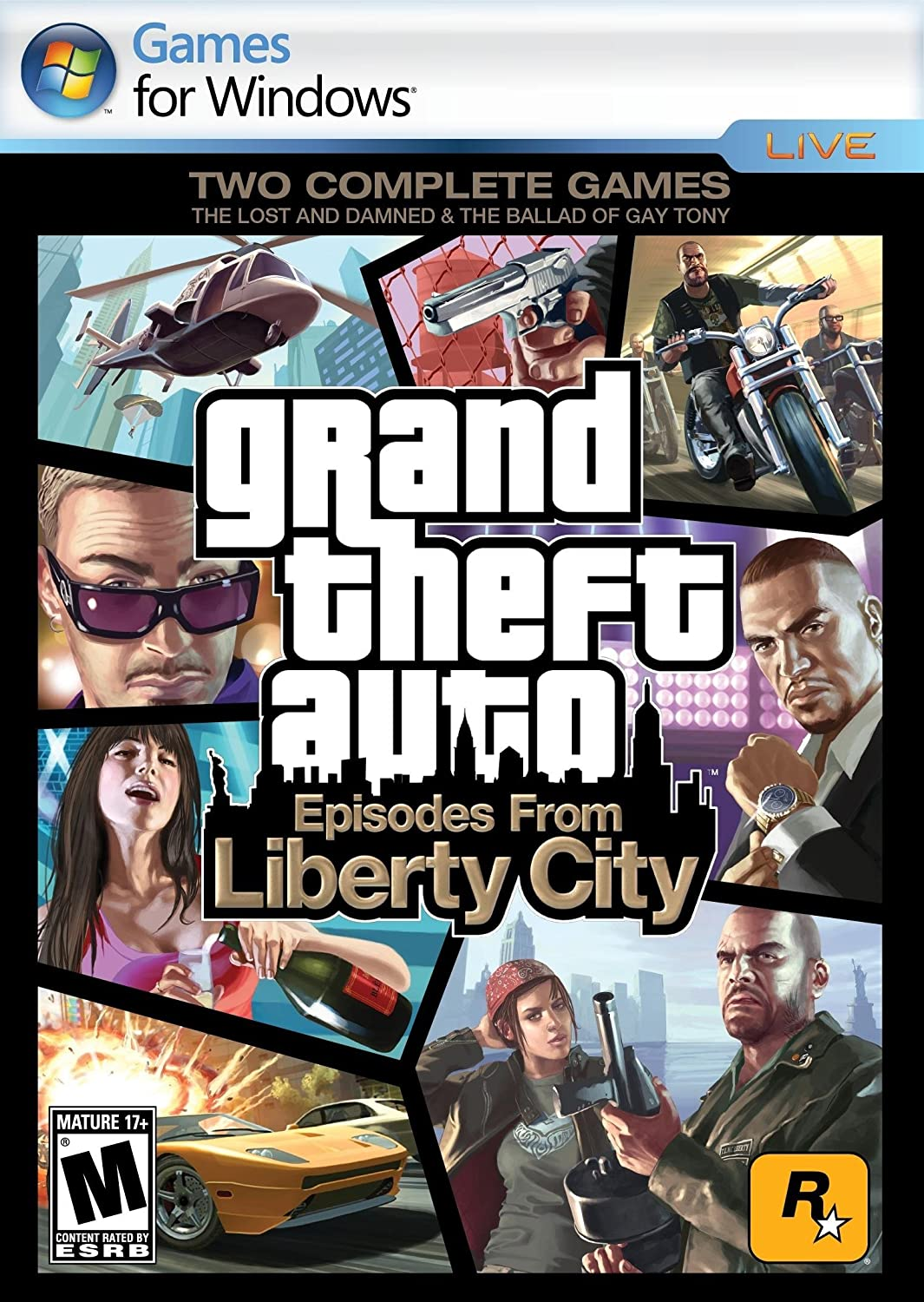 Amazon com: Grand Theft Auto: Episodes from Liberty City [Download