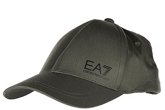 Emporio Armani EA7 adjustable men s cotton hat baseball cap train core green 6182f6fc8c6