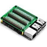 Electronics-Salon RPi GPIO Expansion Extension Module Board, for Raspberry Pi 3/2 Pi Model B+ Zero.