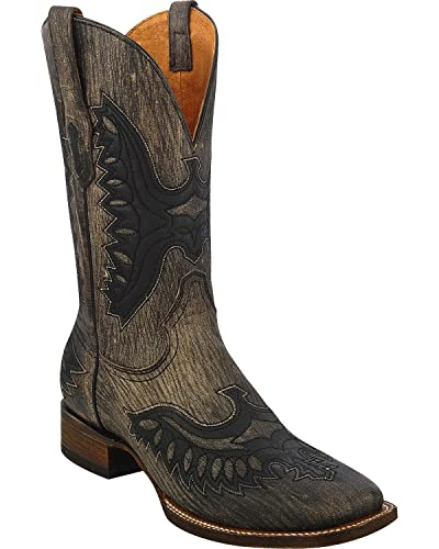 92b6f887806 Amazon.com | CORRAL Men's Shaded Eagle Cowboy Boot Wide Square Toe ...