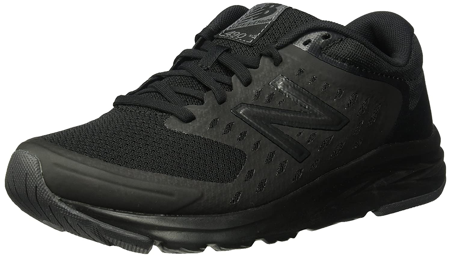 New Balance Women's 490V5 Running Shoe B01N97BMRA 5 D US|Black