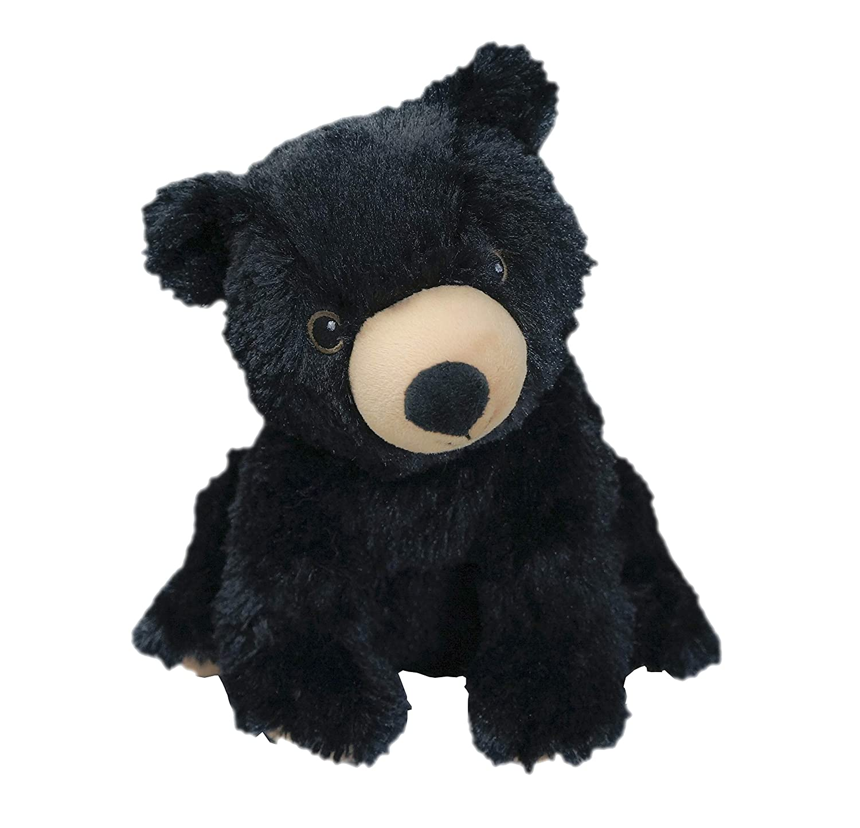 Intelex Warmies Cozy Plush Black Bear