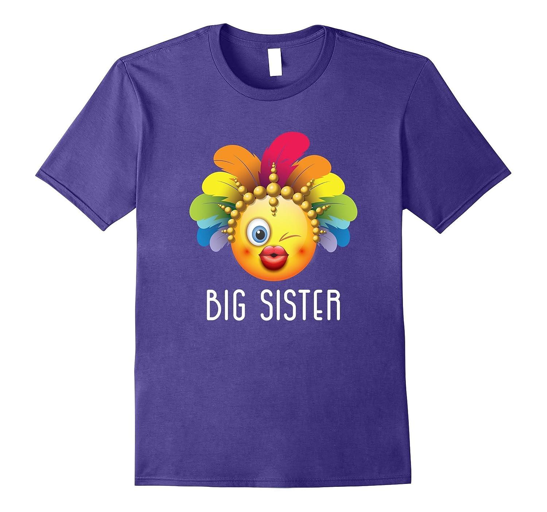 Big Sister Emoji Family Matching TShirt-FL