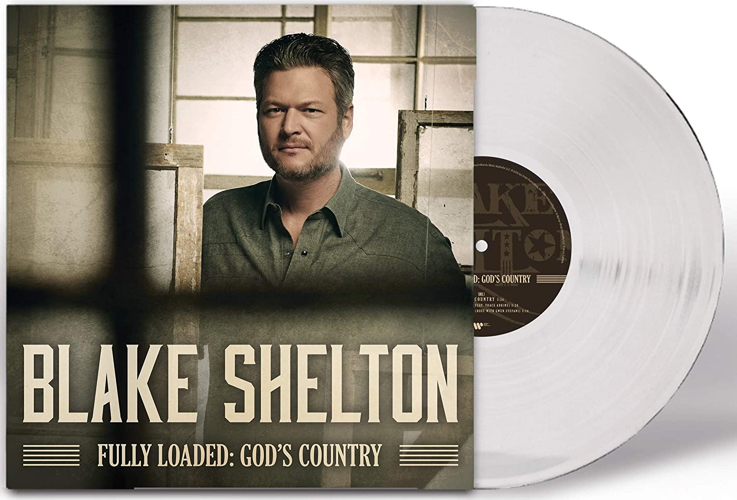 Blake Shelton - Fully Loaded: God's Country (Exclusive Clear Vinyl)