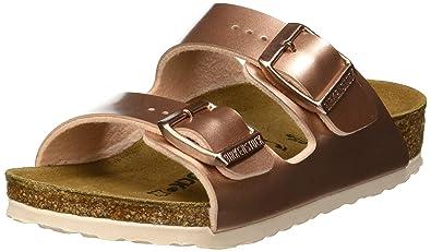ac7939724 Birkenstock Boys' Arizona Open Toe Sandals, Marron Electric Metallic Copper,  1 UK 13UK