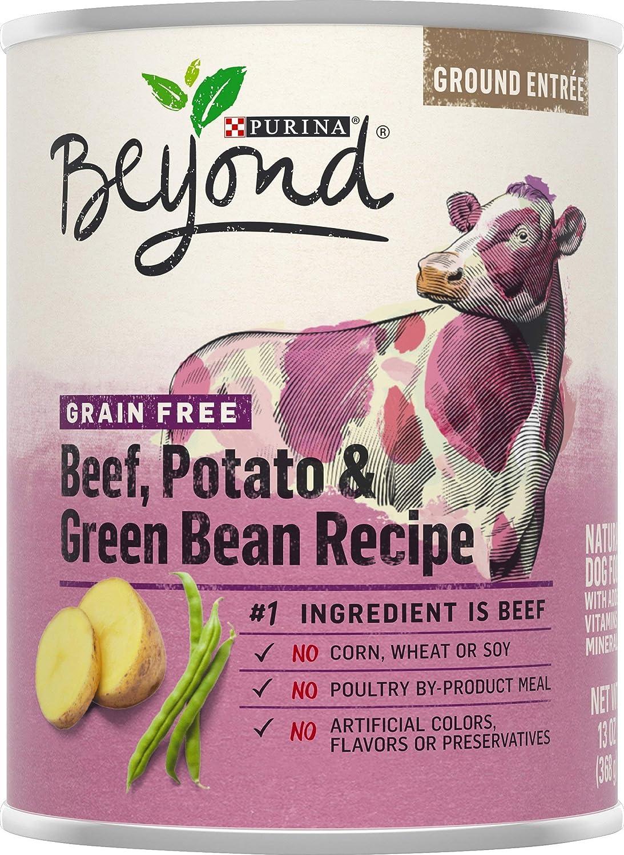 Nestle Purina Petcare Purina Beyond Dog Food - Grain Free Beef, Potato and Green Bean Recipe 13 oz. (178097)