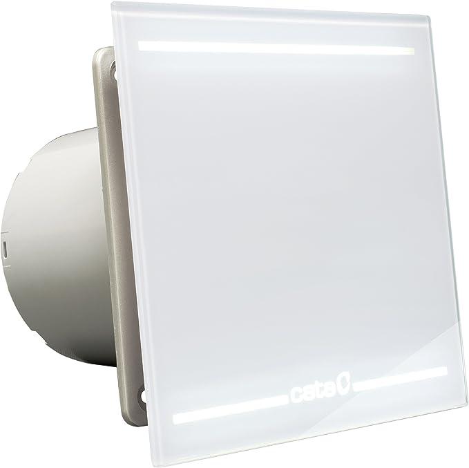 Cata | Extractor baño | Modelo e- 120 GT | Estractor de baño Serie e Glass | Bajo Consumo | Ventilador Extractores de aire alta Eficiencia Energética | Extractor baño silencioso: Amazon.es: Salud y cuidado personal