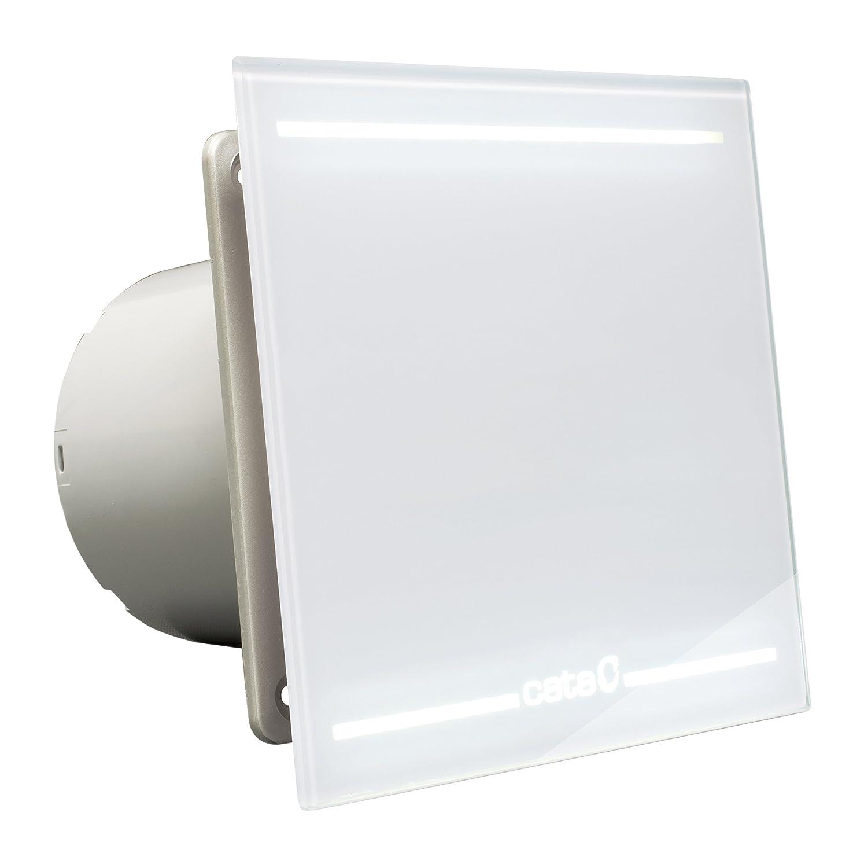 Cata | Extractor baño | Modelo e- 150 GT | Estractor de baño Serie e Glass | Bajo Consumo | Ventilador Extractores de aire alta Eficiencia Energética ...