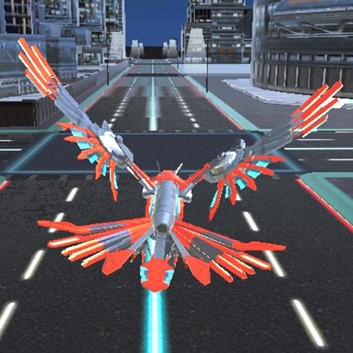 Juego de vuelo del águila de coches robot Simulación: Amazon.es ...