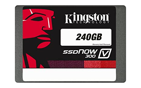 Kingston Digital 240GB SSDNow V300 SATA 3 2 5 (7mm height) Solid State  Drive (SV300S37A/240G)