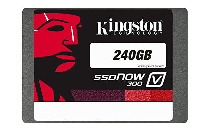 Kingston Digital 240GB SSDNow V300 SATA 3 2.5 (7mm height) Desktop Bundle Kitwith Adapter Solid State Drive SV300S3D7/240G Internal Solid State Drives at amazon
