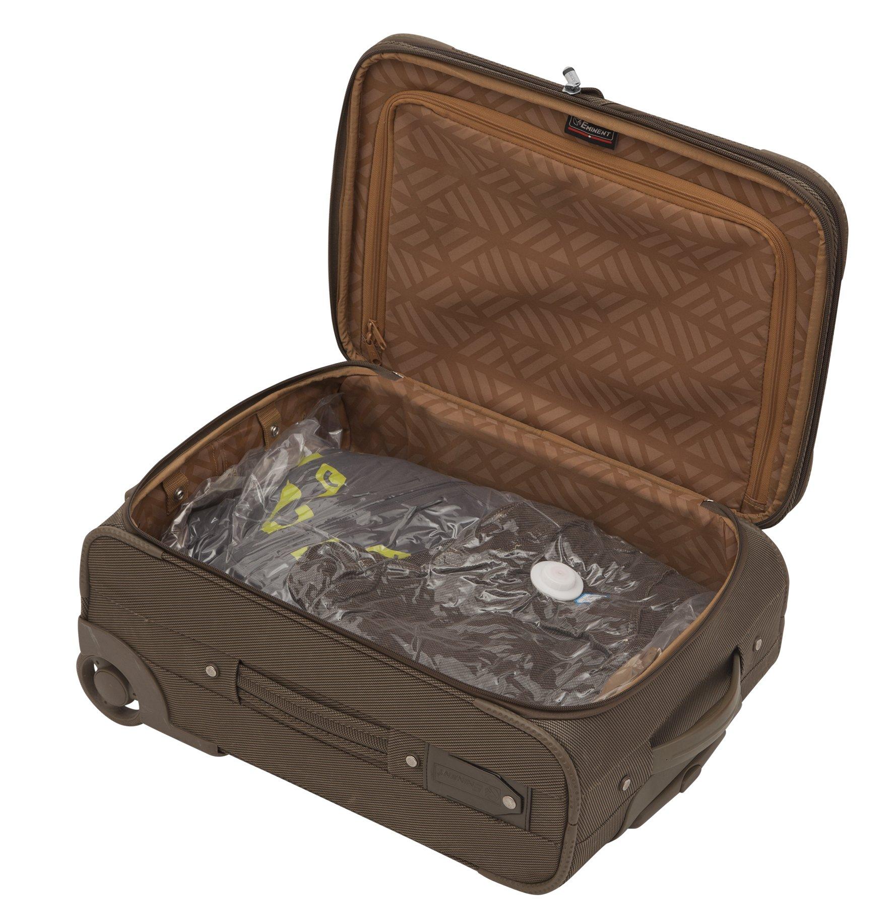 6 er Set Vakuumier Beutel 80% weniger Volumen verschiedene Größen 2* 100x80, 2* 80 x 60, 2* 50x60 cm MY VACUUM BAG TO STORE auch als Kompressionsbeutel für Kleidung, Bettwäsche, bei der Reise geeignet