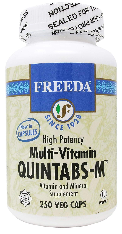 Freeda Quintabs M – 250 Veg Capsules
