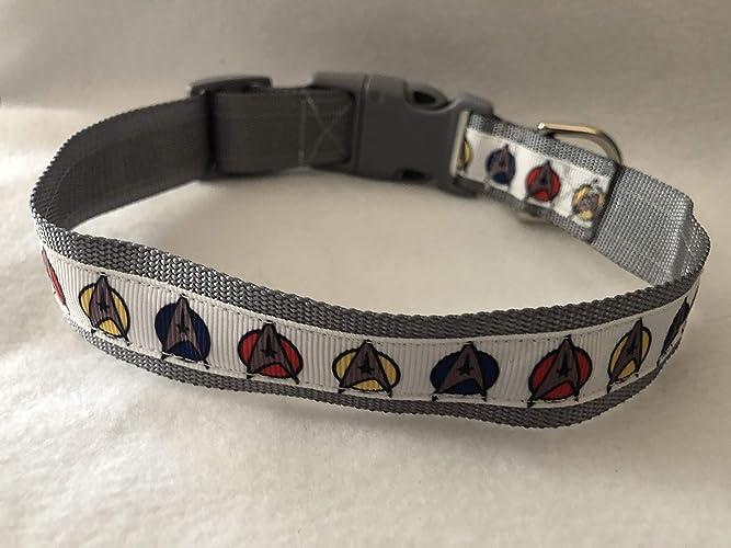 24bb8fb6d99ed Star Trek Dog Collar, Puppy Collar, Custom Dog Collar, Star Trek Gifts