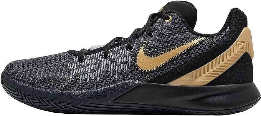 al límite pierna mimar  Amazon.com | Nike Men's Kyrie Flytrap II Basketball Shoe Black/Metallic  Gold/Anthracite Size 7.5 M US | Baseball & Softball