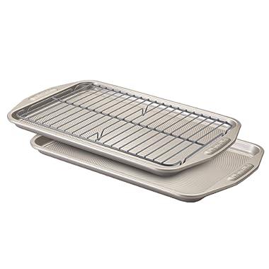 Circulon Nonstick Bakeware 3-Piece Bakeware Set, Gray