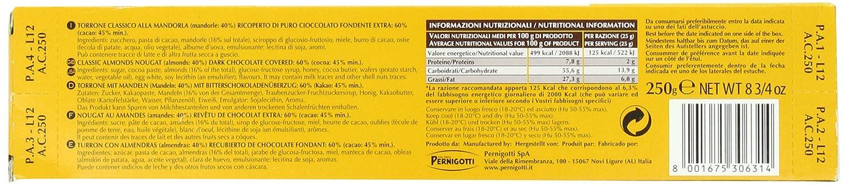Amazon.com : Pernigotti Amor Dark Chocolate Bar, 250 Gram : Snack Food : Grocery & Gourmet Food