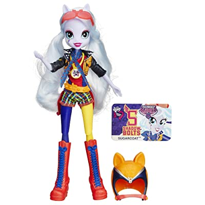 My Little Pony Equestria Girls Motorcross Sugar Coat Doll: Toys & Games