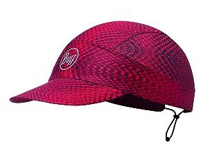 Buff Cappellino R-Jam Red Pack Run Sportcap Basecap Outdoorcap Cappellino Tecnico con Visiera Uomo Rosso Taglia Unica 113705.425.10.00