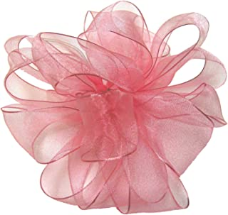 product image for Offray Wired Edge Encore Sheer Craft Ribbon, 1-1/2-Inch Wide by 25-Yard Spool, Light Pink