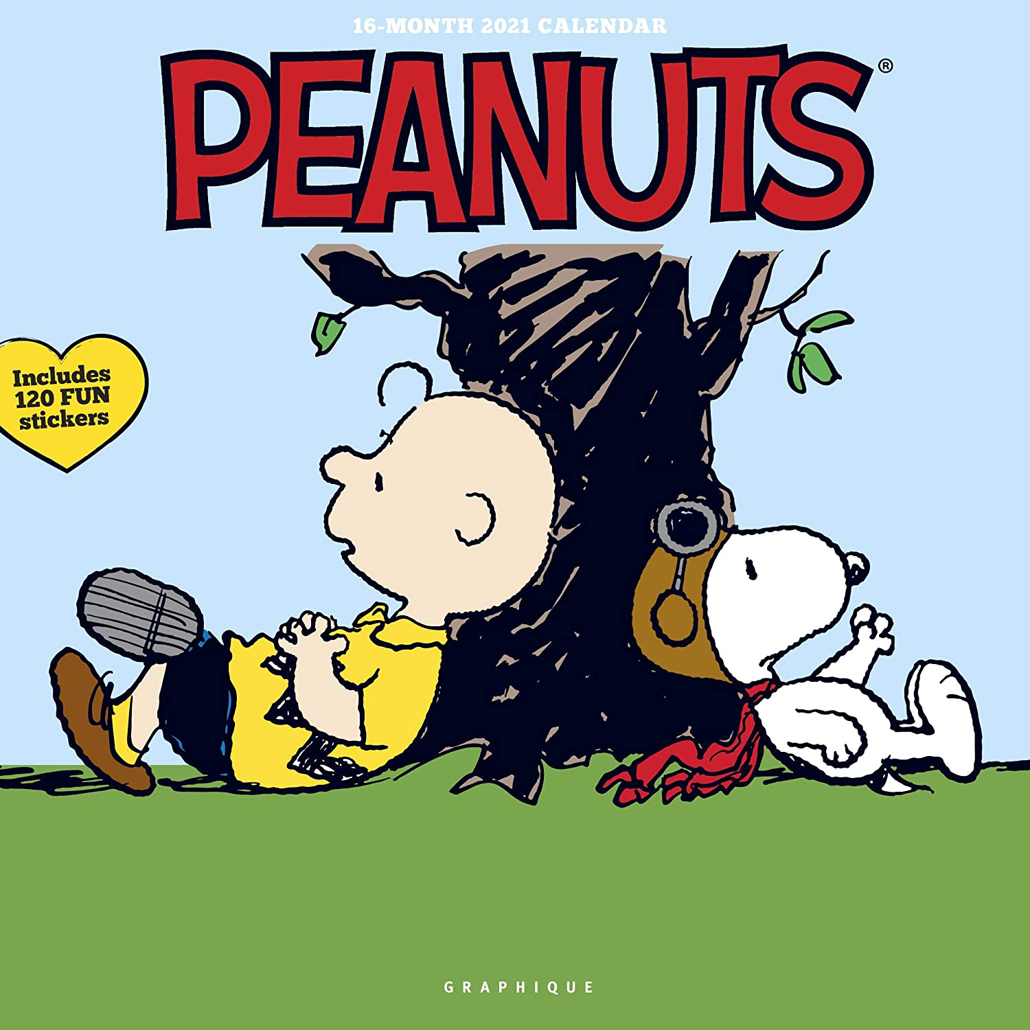 Amazon.: Graphique Peanuts Happiness Is Wall Calendar   16