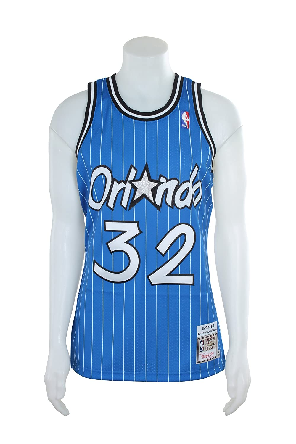 d134b59d7 Amazon.com   Shaquille O Neal Orlando Magic Mitchell   Ness Authentic 1994  Blue NBA Jersey   Sports   Outdoors